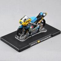 IXO-Altaya 1/18 Aprilia RS 125 #46 Modelo de Moto VALENTINO Rossi Do Campeonato Do Mundo 1996 Modelo de Moto Crianças Coleção brinquedos