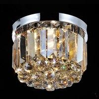 Домашний декор  Современные Блестящие Кристальные люстры  улучшенное освещение в помещении  Ретро Круглый ультрабук  светодиодный  9010