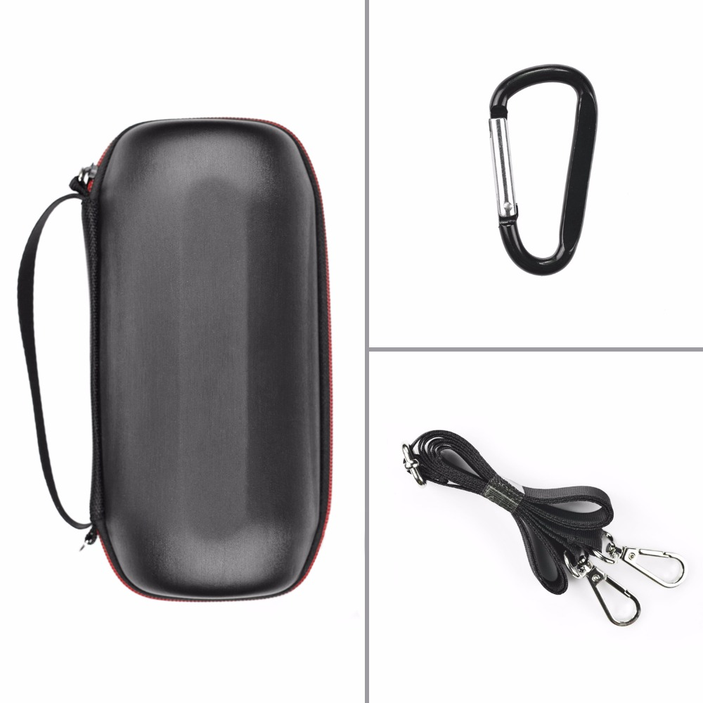Newest for JBL Pulse2 Bluetooth Speaker Travel Protective EVA Leather Case Outdoor Carry Pouch Bag Wireless Bluetooth Speaker
