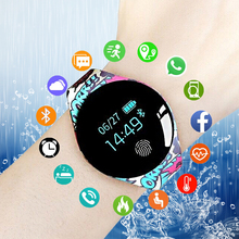 Cartoon Bluetooth Smart Watch for IOS Android Men Women Sport Intelligent Pedometer Fitness Bracelet Watches for iPhone Clock