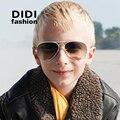 DIDI Hot Liga Militar Piloto óculos de Sol Dos Miúdos Top Falt Goggles Tactical Óculos Revestimento de Espelho Lente Reflexiva óculos de sol Culos Enfant C328