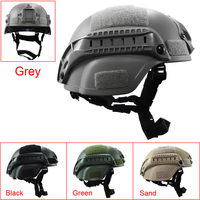 Outdoor Simplified Action Military Tactical Combat Riding MICH2000 Helmet