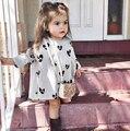 Xq-171 2017 spring girl dress niños dress verano otoño manera de la alta calidad de madre e hija ropa para niños ropa