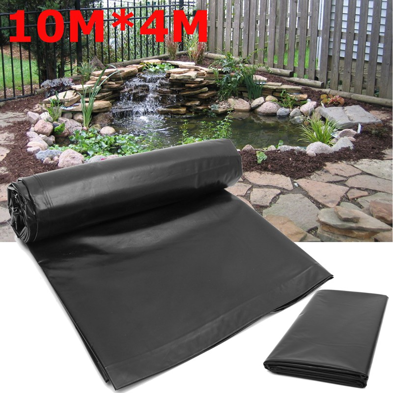 10X4M Fish Pond Liner Garden Pools Reinforced HDPE Heavy Duty Professional Landscaping Pool Pond Waterproof Liner