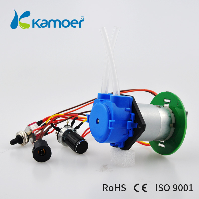 Kamoer 12V NKP small peristaltic pump with DC motor mini water pump speed control board kamoer 2018 the newest cost effective dc motor water pump khs peristaltic pump with silicone tubings