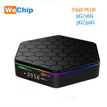 [WeChip] S912 T95Z PLUS TV Box Android 6.0 octa-core cortex-A53 2G/16G KDPlayer 17.0 2.4G + 5G DualBluetooth Gigabit Reproductor Multimedia