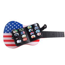 16Pcs PVC Guitar Picks + Guitar Pick Wallet