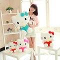 20 cm Mini Hello Kitty muñecas juguetes de peluche de Kawaii peluches juguetes de dibujos animados camiseta para niños niños Brinquedos precio de fábrica
