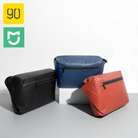 90Fun Messager Bag Xiaomi Ecological Chain Large Capacity Fashion Waterproof Pocket Backpacks Warning Light Bar Postman Bag