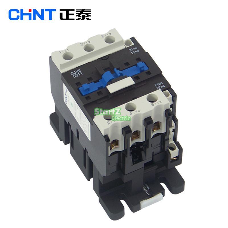 CHNT CJX2 6011 AC Contactor Voltage 380V 220V 110V 36V 24V LC1D60 недорого