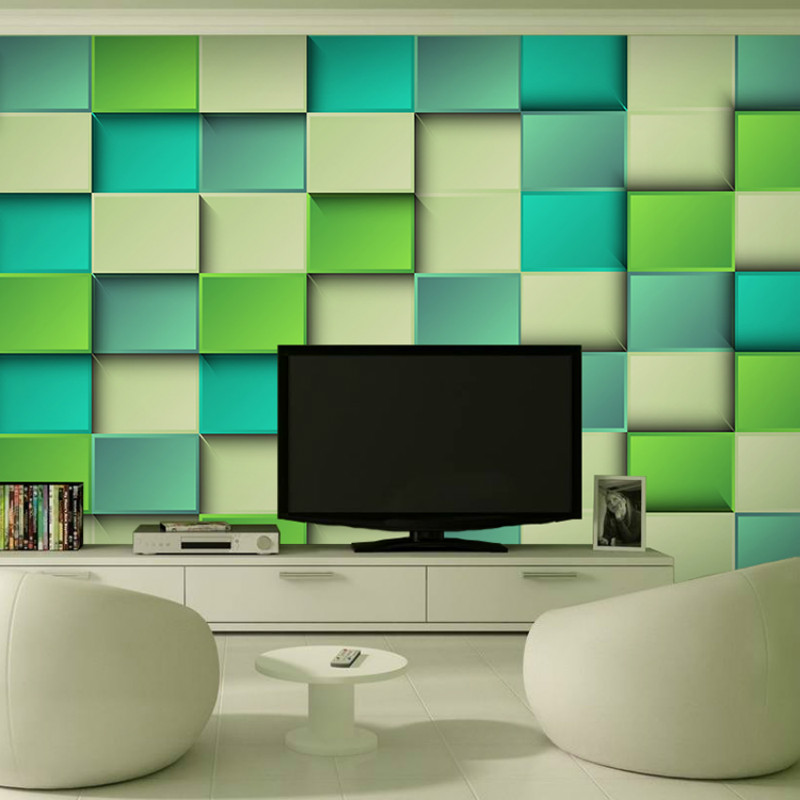 Custom 3D Stereo Wallpaper for Walls TV Background KTV Bars Hotel Coffee Large Mural Wallpapers Square Nonwovens Wall Papers 3d rock n roll music it s my time any size custom wallpaper mural rolls hotel restaurant coffee bar ktv living room background