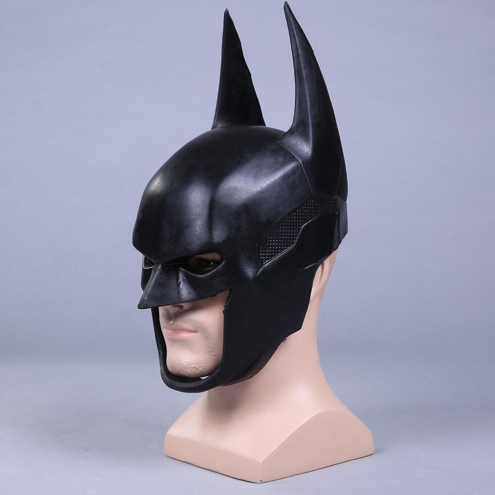 capacete halloween fantasia macio pu máscara adereços