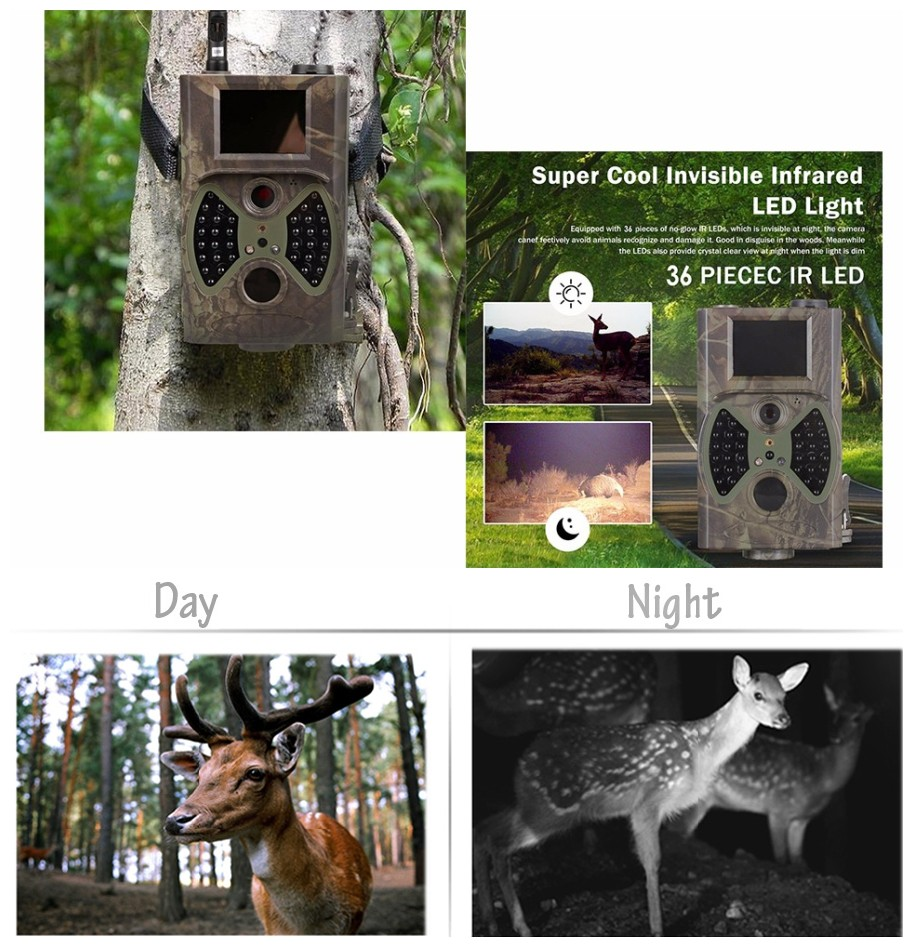 Scouting hunting camera HC350M HD GPRS MMS Digital 940NM Infrared Trail Camera GSM 2.0' LCD Hunter Cam 940nm trail hunting camera hc300 hd 1080p digital infrared scouting camera 2 0 lcd ir hunter cam