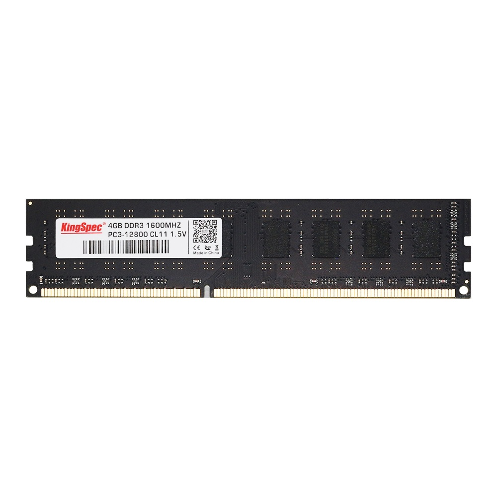 KingSpec DDR3 4GB 8GB 1600Mhz Ram Memory 240pin For Desktop With High Performance High Speed
