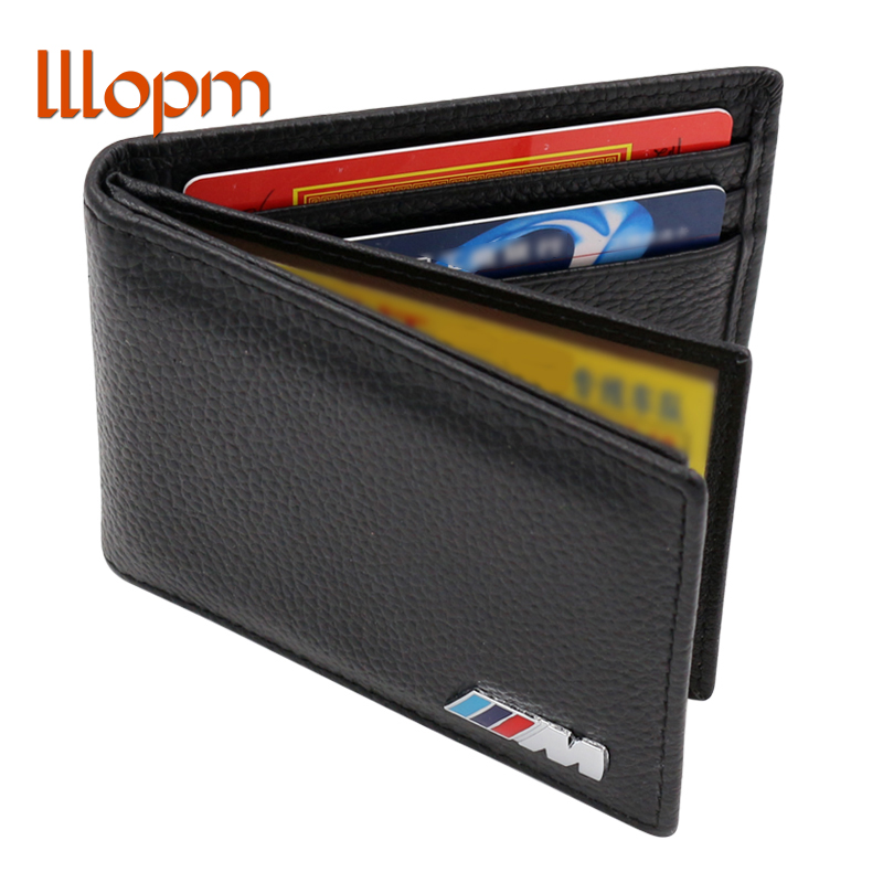 M Logo Leather Wallet Coin Purse Holder For BMW E46 E39 E36 E90 E60 F30 E30 E34 F10 F20 E53 X5 X3 E92 X1 X6 E38 E70 E91 M3 M5 cool car auto decoration badge stickers m logo metal 3d car sticker for bmw m3 m5 x1 x3 x5 x6 e36 e39 e46 e30 e60 e92 all model
