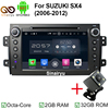 2GB RAM Android 6 0 Car Stereo For Suzuki SX4 Car DVD GPS Radio Navigation Fit