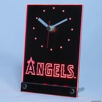 Tnc0558 Anahelm Engel Tisch Schreibtisch 3D LED Uhr