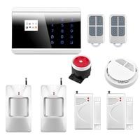Wireless GSM Alarm System Wireless Zone GSM PSTN Home Alarm System SMS Arm Disarm Door Contact