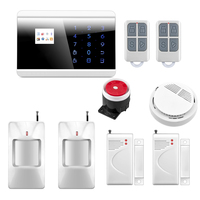 Wireless GSM Alarm System Wireless Zone GSM PSTN Home Alarm System SMS Arm Disarm Door Contact