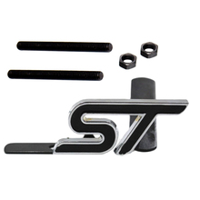 Dewtreetali new Metal S RS ST Car Grille Styling Emblem Badge 3D Car Sticker Refitting Decal for FORD Focus Mondeo Accessory
