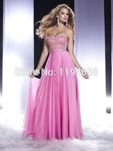 Schatz Rosa 2016 robe de soiree Schatz Abendkleider Sexy Pailletten Party Kleider Formales Abschlussball-kleider F & M-898