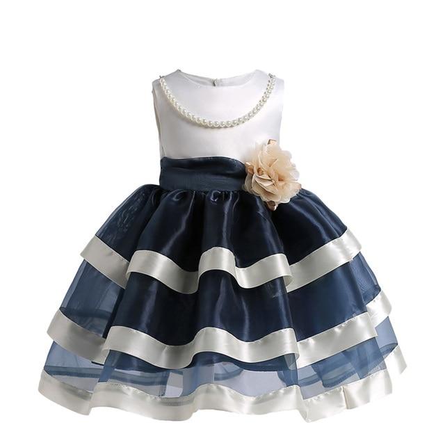 Amor Arco Iris Floral Niñas Ropa de verano niños adolescentes ropa moda bebé Pirncess vestidos de graduación para fiesta y boda