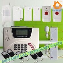 GSM PSTN Двойного Сети Беспроводной Домашней Сигнализации Автоматического Набора Охранной охранной Сигнализации