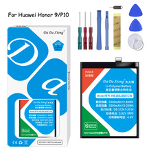 Original Da Xiong Lithium Polymer Battery HB386280ECW For Huawei Honor 9/P10 3200mAh Replacement  Free Tools