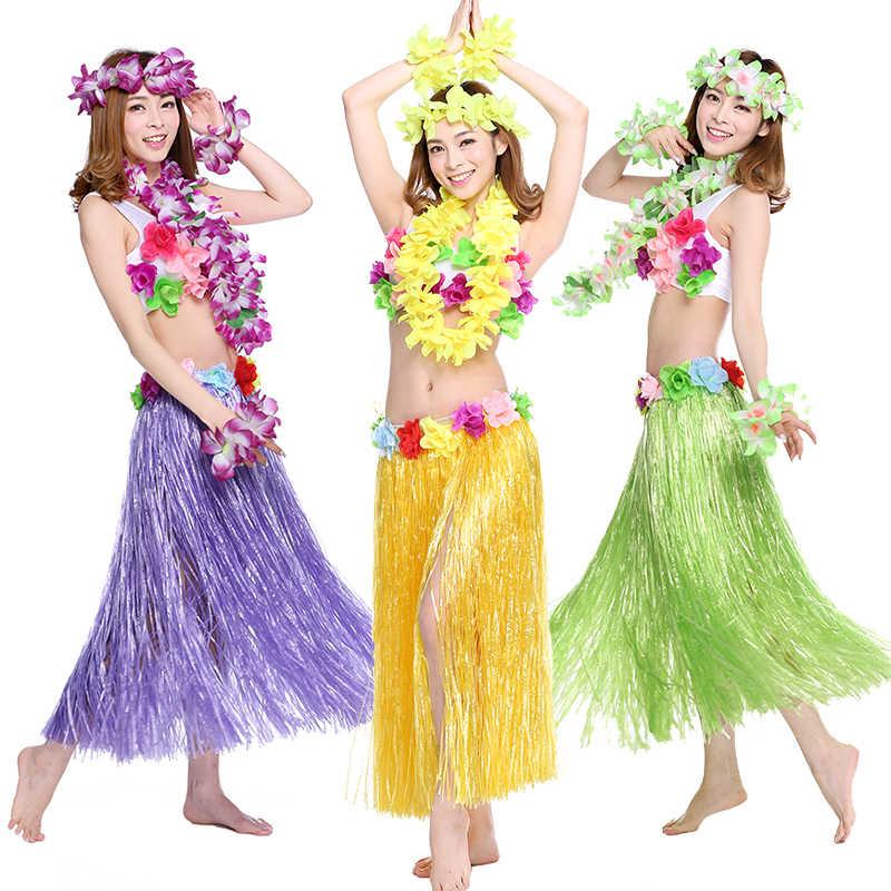 Гавайским взрослый костюм на Хэллоуин для выступления родитель-ребенок-шоу костюм Show