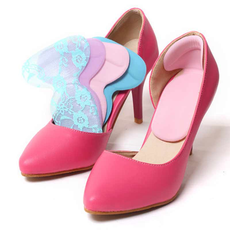 3 par de Zapatos de Tacón Alto Pad Super Suave Plantillas Cómodo Protector de Ge
