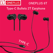 Original OnePlus 6T Type-C Bullets Earphones In-Ear Headset With Remote Mic for Oneplus 6 5T 5 3T 3 Built-in DAC mobile phone(China)
