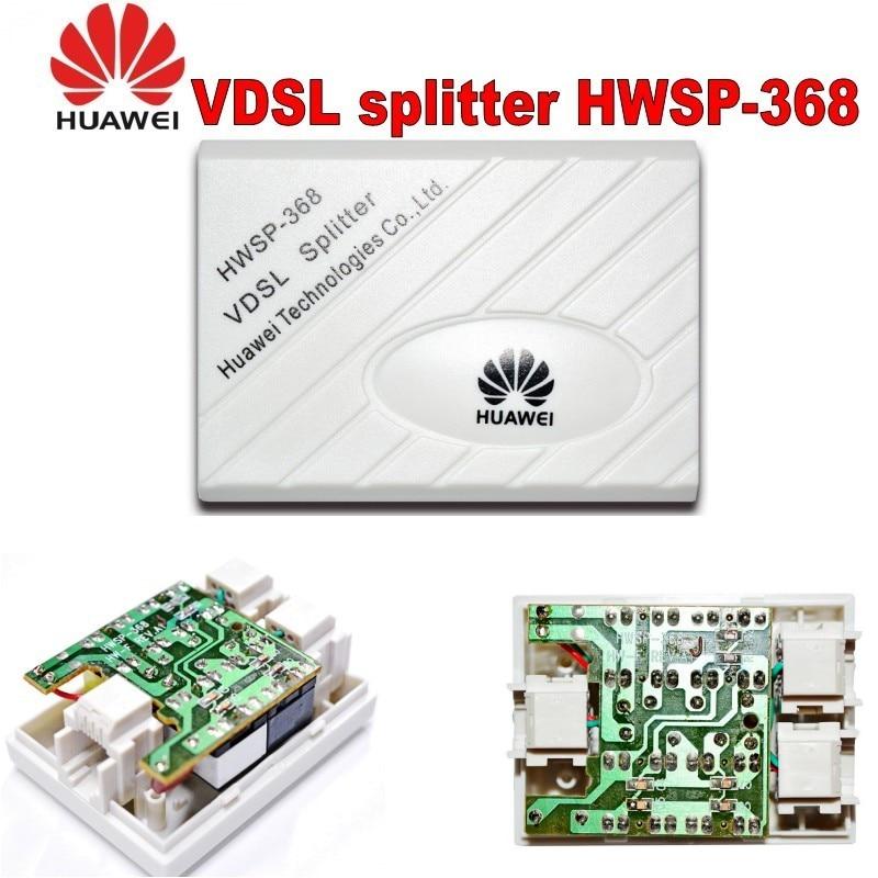 Original Huawei VDSL Splitter Broadband Telephone Filter Surge Lightning Protection Anti Noise For ADSL Modem RJ11 Adapter
