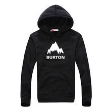 Burton Hoodies for Men Teenagers Casual Outwear Pullover Male Sweatshirt Long Sleeve Fashion Asian Size RAD0022