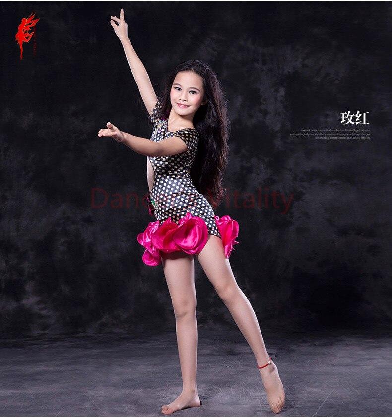 Kids Belly Dance Clothes Printing Top+short Skirt 2pcs Belly Dance Suit For Kids Belly Dance Performance Set S,M,L