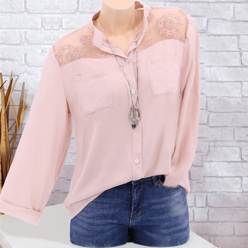 women blouse harajuku female shirts sexy womens top classics shirt plus size tops ladies clothes korean pink fashion clothing