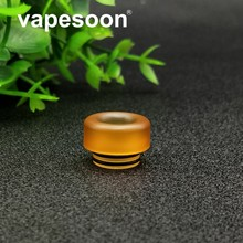 VapeSoon 810 PEI drip tips TFV8 X Baby TFV12 Drip Tips E Cigarette wide bore Mouthpiece For 810 Thread Atomizer