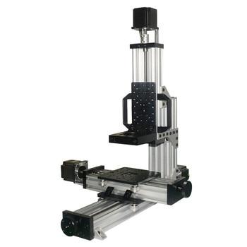 Not assembled!1 Set Open MiniMill CNC Mechanical Kit 3 Axis Desktop CNC Mini Mill machine