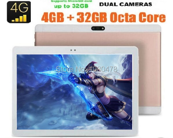 New 10 inch tablet 3G 4G FDD LTE Phone Call 1920 1200 Octa Core 4GB RAM