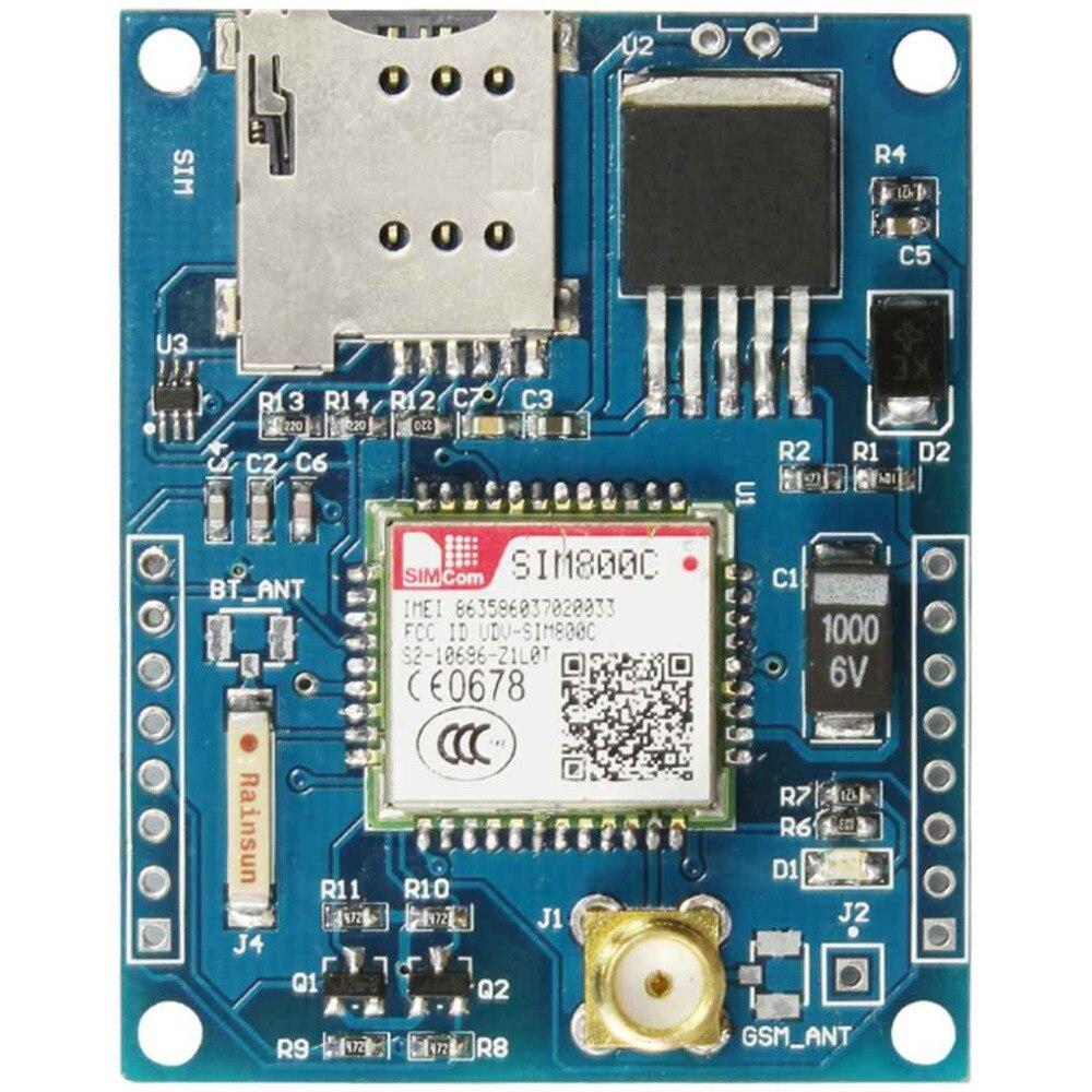 все цены на 4 Frequency Development Board Module GSM GPRS Module Bluetooth DTMF Quad-Band Antenna Useful Board онлайн
