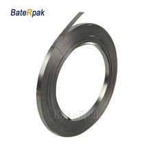 BateRpak Impulse sealer heating wire,Nickel chrome heating wire parts,8meter vacuum sealing machine heating flat wire,no clamp
