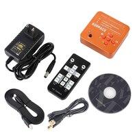 21MP de alta Definição 1080 P Câmera Microscópio Digital Industrial Para O Telefone CPU Reparação PCB 60FPS HDMI HD USB Microscópio Portátil