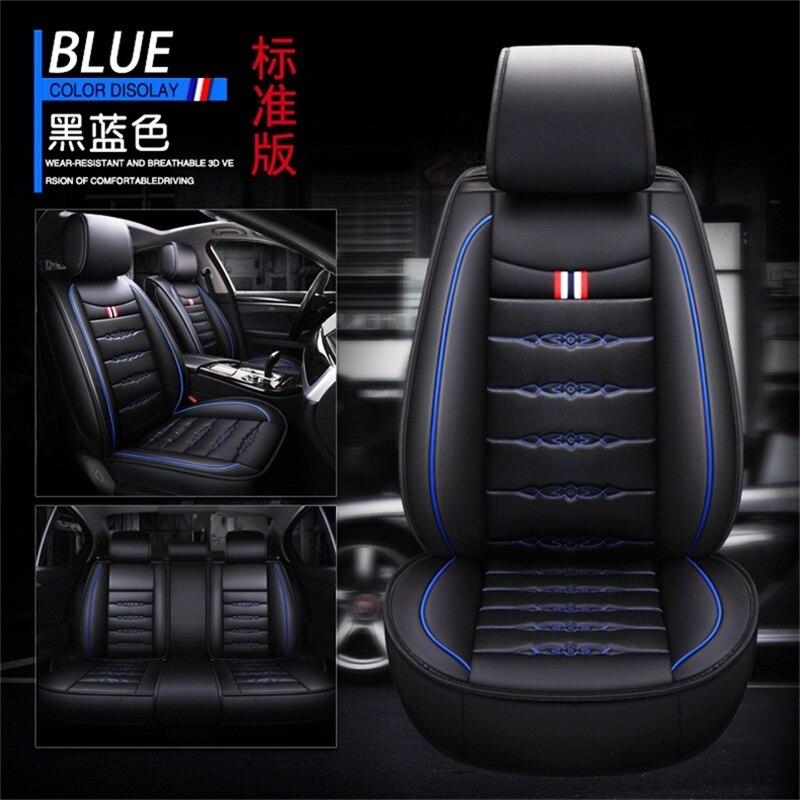 Housses de siège auto en cuir synthétique polyuréthane universelles pour BMW i3 1 série 2 série 3 série 4 série z4 série 6 bmw5series bmw7 série bmw8 série bm