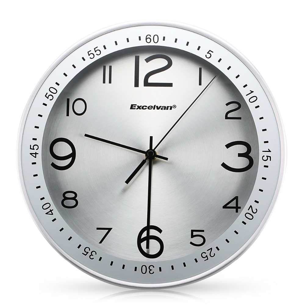 "Aliexpress.com : Buy Excelvan 12"" Large Silent Wall Clock ..."