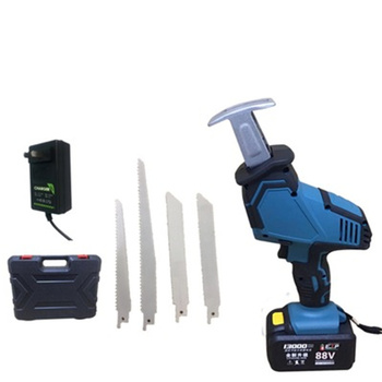 26V 88V Small chainsaw rechargeable lithium battery reciprocating saw household electric saw mini chainsaw portable logging
