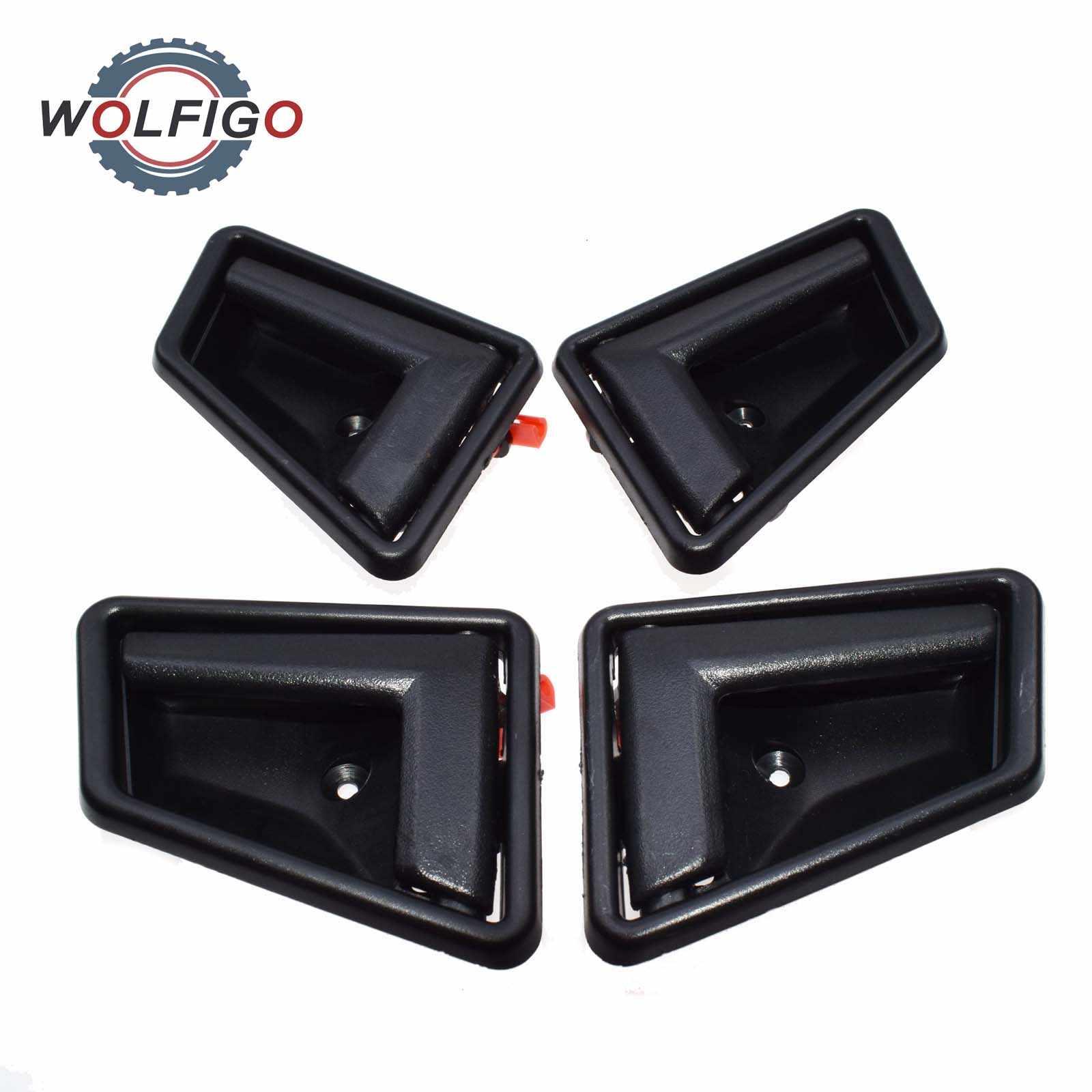 WOLFIGO 車インテリアインナードアハンドル交換シボレー Geo トラッカー鈴木サイドキック Vitara 1989-1998 8313056B015ES 83110-56B01