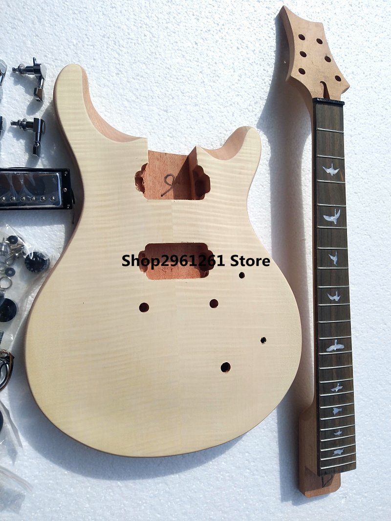 diy prs electric guitar kit unfinish guitar in guitar from sports entertainment on aliexpress. Black Bedroom Furniture Sets. Home Design Ideas