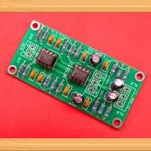 Несимметричный сбалансированный XLR/RCA выход двойной операционный усилитель печатная плата/с ультра-низкий уровень искажений