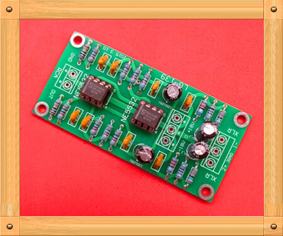 zapojení vyvážené xlr - Free Shipping!!! Single-ended balanced XLR / RCA output dual op amp circuit board / with ultra-low distortion