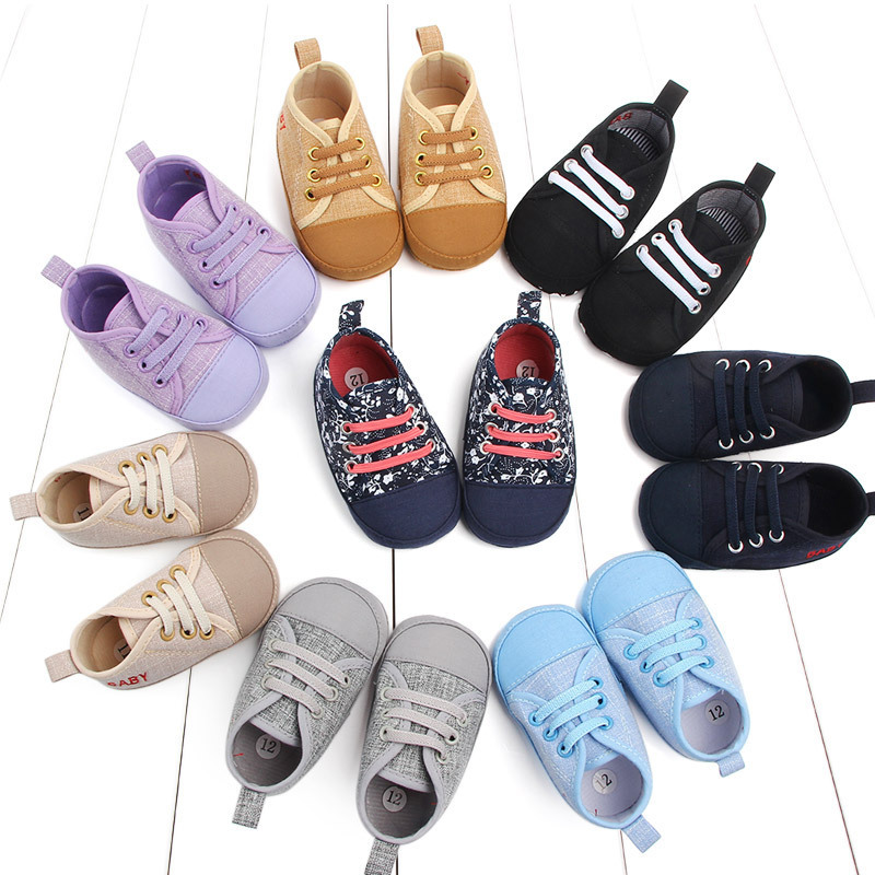 Degree Of Tightness Shoelace Set Foot Baby Shoe Baby Soft Sole Of Shoes Study Walking Shoes Soft Bottom Baby Shoe 2153
