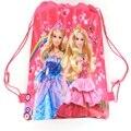 Бабочка Князья Cartoon drawstring детские школьные сумки, дети birthday party Пользу, Mochila эсколар, школа детский рюкзак 55